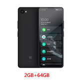 QIN 2 Pro Telefono a schermo intero da 2 GB + 64 GB Global Version Rete 4G multilingue con Wi-Fi 5,05 pollici 2100 mAh Andriod 9.0 SC9832E Quad Core Feature Phone