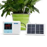 Atualizado Dispositivo de Carregamento de Energia Solar Jardim Inteligente Dispositivo de Rega Automática Planta Sistema de Cronômetro de Bomba de Água de Irrigação Por Gotejamento