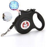 5M Pet Retractable Leash Rope Walking Automatic Dog Traction Rope with Flashlight