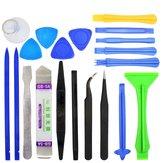 20 em 1 profissional de reparação ferramentas de abertura tweezers pry spudger kit de ferramentas para iPhone 4s Comprimido de superfície Samsung Ipad 5s 6s