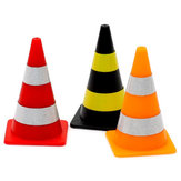 8PCS Orlandoo-Hunter Mini Road Cone with Sticker for OH32A02 OH32A03 1/32 Rc Car Model Parts