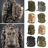 IPRee® 30L Outdoor Tactical Backpack Bag 600D Nylon Waterproof Camouflage Trekking Rucksack
