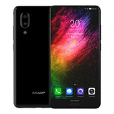 SHARP AQUOS S2 (C10) Global Version 5,5 tommer FHD + NFC Android 8,0 4 GB RAM 64GB Rom Snapdragon 630 Octa Core 2.2GHz 4G Smartphone