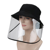 Safety Protective Full Face Mask Shield Removable Foldable Anti-Dust Anti-Splash Face Cover