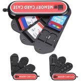 Universal portátil de grande capacidade cartão de memória tf cartão de coleta de cartão SIM Caso armazenamento Caixa