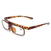 Men Women Multipurpose Clamshell HD Anti-UV Reading Glasses
