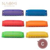 Pettine per armonica Naomi Melodica C Sintonia in plastica 10 fori Harmonica Bambini Harmonica Principiante Utilizzare Regalo per bambini