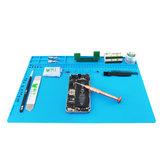 BEST S120 S130 S140 Magnetic Tahan Panas Silikon Pad Meja Tikar Pemeliharaan Platform Isolasi Panas BGA Solder Perbaikan