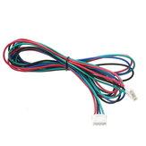 10X 1M 4pin Stepper Motor Cable XH2.54 Masculino compatível com MKS Series para impressora 3D