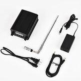 CZERF CZE-7C 1W / 7W Kablosuz PLL Stereo FM Verici Outdoor GP1 Anten Kitleri ile