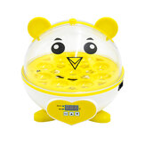 9 uova incubatrice pollo digitale automatica LED Science Kids Home Experiment Strumenti