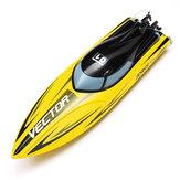 Volantex 792-5 vetor SR65 65 cm 55 KM / h sem escova barco de alta velocidade RC com sistema de refrigeração de água