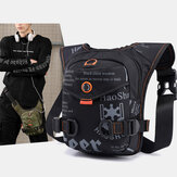 Men Fashion Multifunctional Bag Chest Bag Waist Bag For Outdoor Travel
