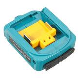 Ladegerät Adapter Dual USB Port Adapter für 12V-22V Makita Li-Ion Batterie