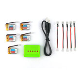 5PCS Eachine E010 3.7V 150mAh 30C Battery RC Quadcopter Spares Parts