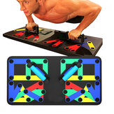 14 In 1 Multi Function Folding Push Up Board Home Gym Muscle Training Fitness Exercise Tools
