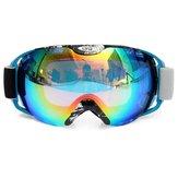 Moto équitation lunettes anti-buée unisexe double objectif Outdooors snowboard ski lunettes