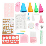 Quilling DIY Paper Art Craft Tool Volledige Kit Quilling Work Board Mold Grid Guide Tool