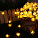 11/12/22M Solar LED String Lights Waterproof Christmas Party Garden Home Decor