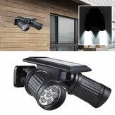 Garten Solar Super Bright 14 LED Spot Lightt Patio Garage Wand montiert menschlichen Körper Induktionsleuchte