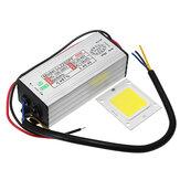 AC100-265V Naar DC20-40V 50W Waterdichte LED Driver Voeding Met SMD Chip
