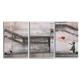 3 Piece Large Black and White Decorative Painting Modern Sofa Background Wall Painting 40*60cm no Frame