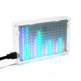 Geekcreit® 5V LED Musique Spectre Électronique LED Flash DIY Kit 12x11FFT 108 x 70 x 16 mm