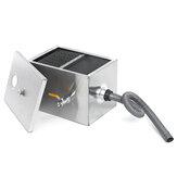 8LB 5GPM olie water vetafscheider onderschepper separator roestvrijstalen keuken