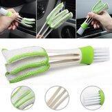 Multi-function Double Head Dust Cleaning Brush Shutter Window Blinds Car Air Conditioning Vent Cleaning Tool