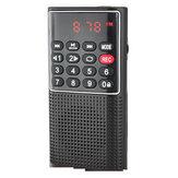 Wielofunkcyjny przenośny rejestrator Mini FM Rudio Karta TF U Disk MP3 Recorder
