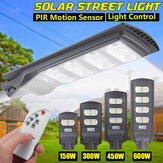 AUGIENB Solar Powered 140/280/420/560LED Street Light PIR Motion Radar Sensor Waterproof Outdoor Garden Lamp