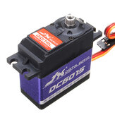 JX DC6015 14.32KG DC Metal Gear High Torque Standard Angle Digital Servo For RC Model Transmitter Radio