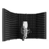 Neewer 5 لوحة قابلة للطي ميكروفون تسجيل الرياح شاشة عازل للصوت عازل للصوت