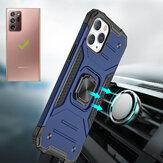 Samsung用BakeeyGalaxy Note 20 Ultra / Galaxy Note20 Ultra 5Gケース磁気リングホルダースタンド付き耐衝撃性PC + TPU保護ケース背面カバー