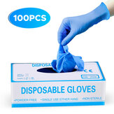 IPRee® 100 Pcs Disposable Camping Picnic PVC Gloves Prevent Dust Waterproof Oil-proof Anti-fouling Glove