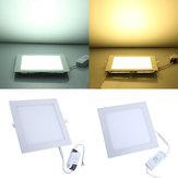 20W Kare Tavan Panel Beyaz / Sıcak Beyaz LED Aydınlatma AC 85-265V