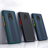 Bakeey pour Xiaomi Redmi Note 9S / Redmi Note 9 Pro/Redmi Note 9 Pro Max Case Antichoc Anti-fingerprint Matte Translucent Hard PC & Soft TPU Edge Pro