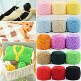 100g 26 Kleuren Dikte Drie-lags Soft Koraal Fleece Knitting Wol Garen Sjaal Hoed Trui Garen Bal