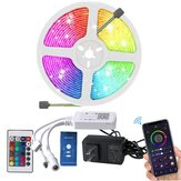 5M bluetooth LED Strip Light Music Control RGB TV Backlight Tape Lamp Work with Homekit Amazon Alexa Google Assistant