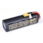 ZOHD LIONPACK 4S2P 18650 14.8V 7000mAh Li-ion البطارية Pack for RC Airplane Spare Parts RC Drone Accessories
