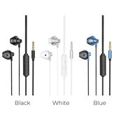 HOCO M75 Magnetic Headphone 3.5mm AUX Jack Wired Earphone Stereo Music Sport Hifi Headset with Mic