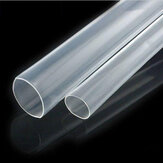 2.5mm 200mm/500mm/1m/2m/3m/5m Clear Heat Shrink Tube Electrical Sleeving Car Cable Wire Heatshrink Tubing Wrap