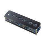 STM8S005 Control DC 5V Eletrônico IN14 Nixie Tube digital LED Relógio Placa de circuito de presente DIY PCBA RGB Lâmpada Relógio Chip IC Micro USB com Shell