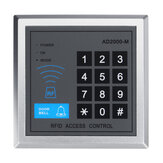125KHz  Proximity Door Control System Standalone Access Controller with 10pcs EM keychains RFID Access Control Keypad digital panel Card Reader