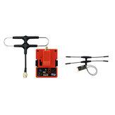 FrSky R9M 2019 900 MHz lange afstand zendermodule en R9 Slim + OTA ACCESS RC-ontvanger met gemonteerde Super 8 en T-antenne