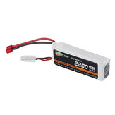 XF POWER 11.1V 2200mAh 40C 3S Lipo Battery T Plug for RC Car Helicopter