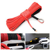 15m 7000LB Synthetische Fiber Winch touw kabel voor ATV SUV Off Road