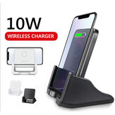 10W Qi Wireless Charger Fast Charging Desktop Phone Holder For Qi-enabled Smart Phone