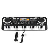 61 toetsen Kids Electronic Music Keyboard Electric Digital Piano Orgel speelgoed + microfoon