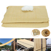 Sun Shade Net Sunscreen Waterproof Foldable Shade Coth Outdoor Top Canopy For Camping Garden Patio
